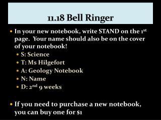 11.18 Bell Ringer