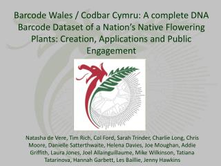 Barcode Wales: Cod Bar  Cymru