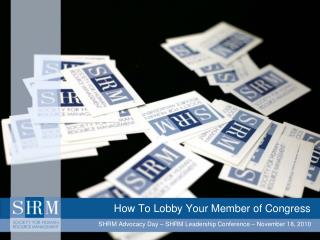 How To Lobby Your Member of Congress