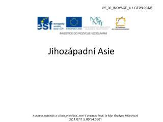 Jihozápadní Asie