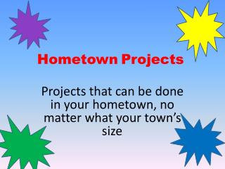 Hometown Projects