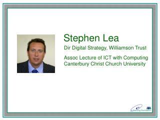 Stephen Lea