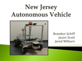 New Jersey Autonomous Vehicle