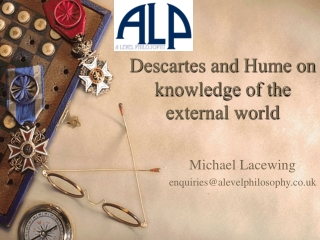Descartes and Hume on knowledge of the external world