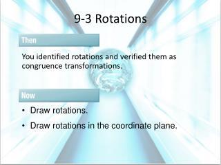 9-3 Rotations