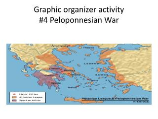 Graphic organizer activity #4 Peloponnesian War
