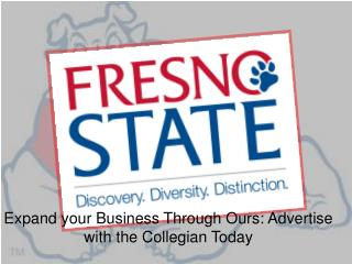 Expand your Business Through Ours: Advertise with the Collegian Today