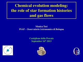 Chemical evolution modeling:  the role of star formation histories and gas flows