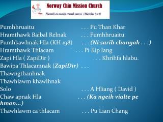 Pumhhruaitu                              .  . .  Pu  Than  Khar