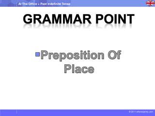 Grammar Point