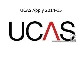 UCAS Apply 2014-15