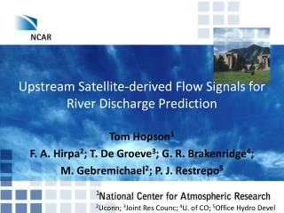 Upstream Satellite-derived Flow Signals for River Discharge Prediction