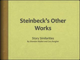 Steinbeck's Other Works