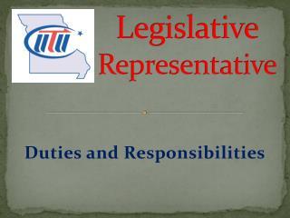 Legislative Representative