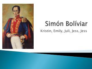 Simón Bolíviar
