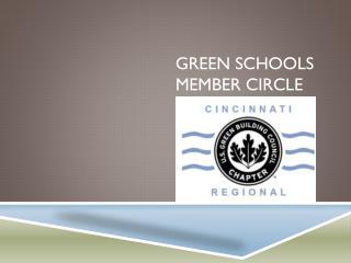 Green Schools Member Circle