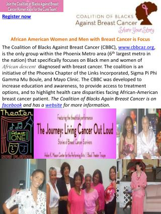 African American Women and Men with Breast Cancer is Focus