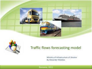 Traffic flows forecasting model