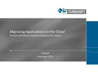 Migrating Applications to the Cloud Prevent the Most Common Reasons for Failure