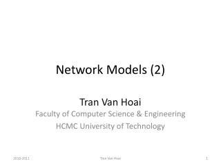 Network Models (2)