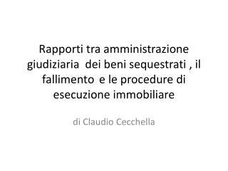 di Claudio Cecchella