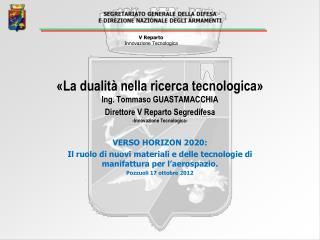 VERSO HORIZON 2020: