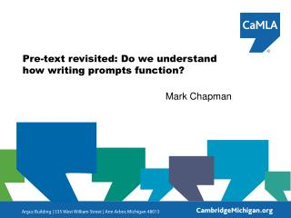 Pre-text revisited: Do we understand how writing prompts function?