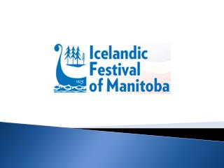Icelandic Festival of Manitoba