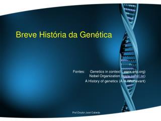 Breve História da Genética