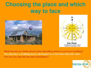 What should you think about when deciding where to put your building   The direction a building faces will impact on a l