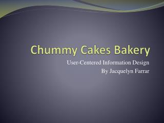 Chummy Cakes Bakery
