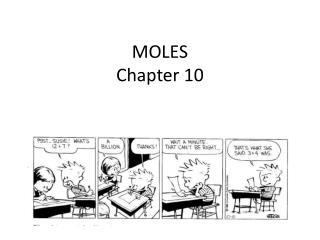 MOLES Chapter 10