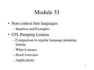 Module 33