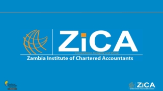A PRESENTATION TO THE ZICA WORKSHOP