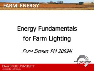 FARM  ENERGY