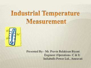 Industrial Temperature  Measurement