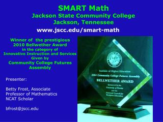 SMART Math  Jackson State Community College Jackson, Tennessee