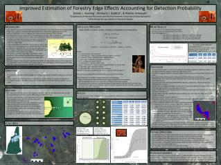 Improved Estimation of Forestry Edge Effects Accounting for Detection Probability