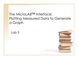 The  MicroLAB ™ Interface: Plotting Measured Data to Generate a Graph