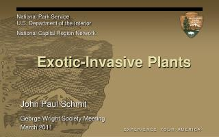 Exotic-Invasive Plants