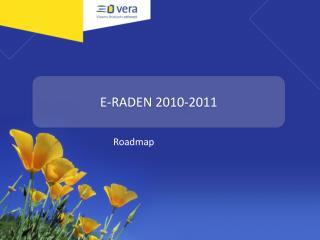 E-RADEN 2010-2011