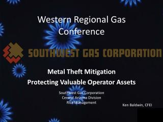 Western Regional Gas Conference