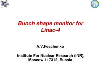 Bunch shape monitor for Linac-4