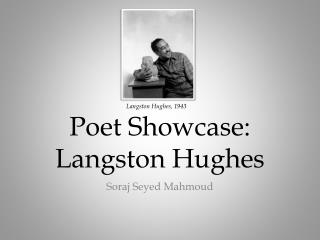 Poet Showcase: Langston Hughes