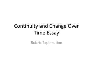 apwh comparison essay rubric • the college board uses the document based question to assess your ability to analyze primary documents, evaluate them and use them appropriately to answer a given historical question write an essay that: has a relevant thesis and supports that thesis with evidence from the documents uses all.
