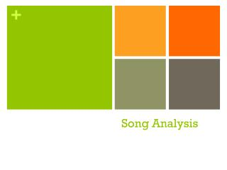 Song Analysis