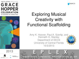 Exploring Musical Creativity with Functional Scaffolding
