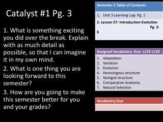 Catalyst #1 Pg.  3