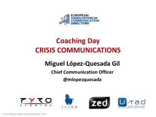 Coaching  Day CRISIS COMMUNICATIONS