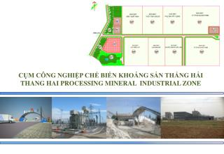 C?M C�NG NGHI?P CH? BI?N KHO�NG S?N TH?NG H?I THANG HAI PROCESSING MINERAL  INDUSTRIAL ZONE